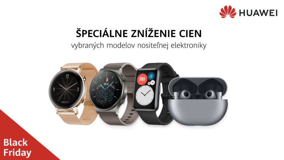 black friday huawei wearable