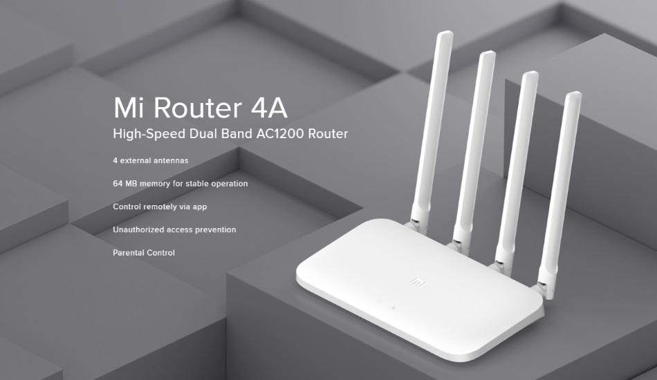Xiaomi Mi Router 4A