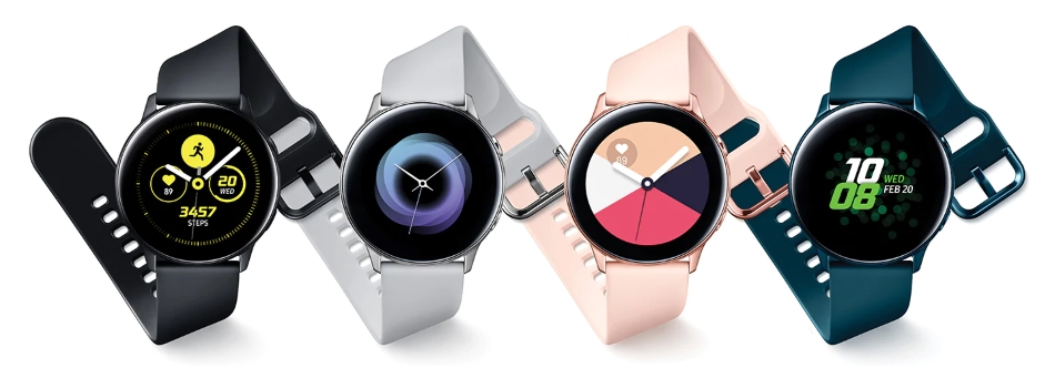 Image result for Samsung Galaxy Watch Active SM-R500 black