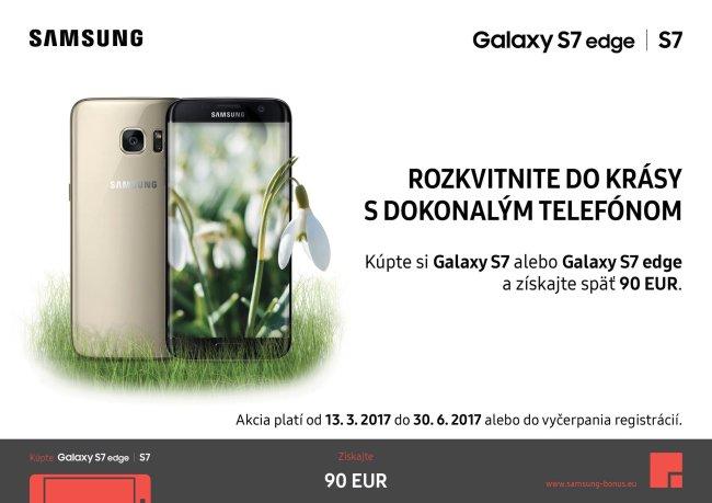 Samsung Galaxy S7/S7 Edge + Cashback 90 EUR
