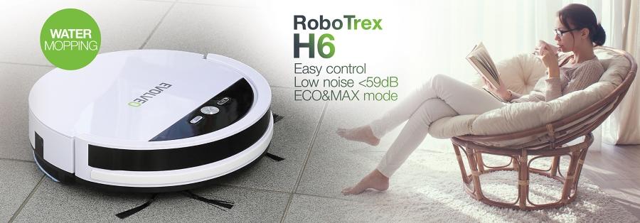 Evolveo Robotrex H6 - robotický vysávač