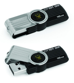 16GB Kingston USB DataTraveler 101 Gen 2 �ern�