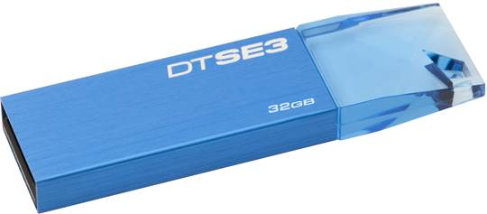 32GB Kingston USB DT SE3 modrý BTS