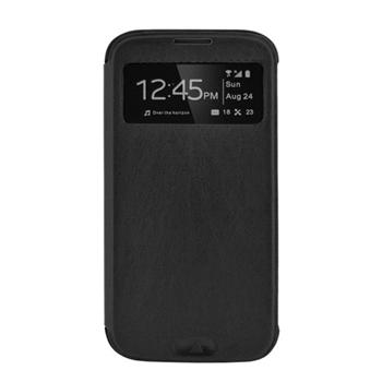 4-OK BOOK WINDOW FOR SAMSUNG GALAXY S6 BLACK