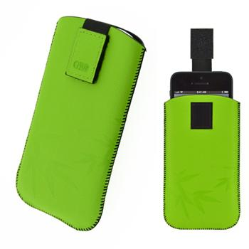 4-OK CASE UP COLORS, Green, ve�kos� Samsung Galaxy S4 (137 x 71 x 9 mm)