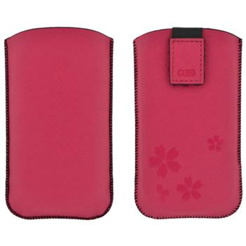 4-OK CASE UP COLORS, Pink, ve�kos� Samsung Galaxy S4 (137 x 71 x 9 mm)