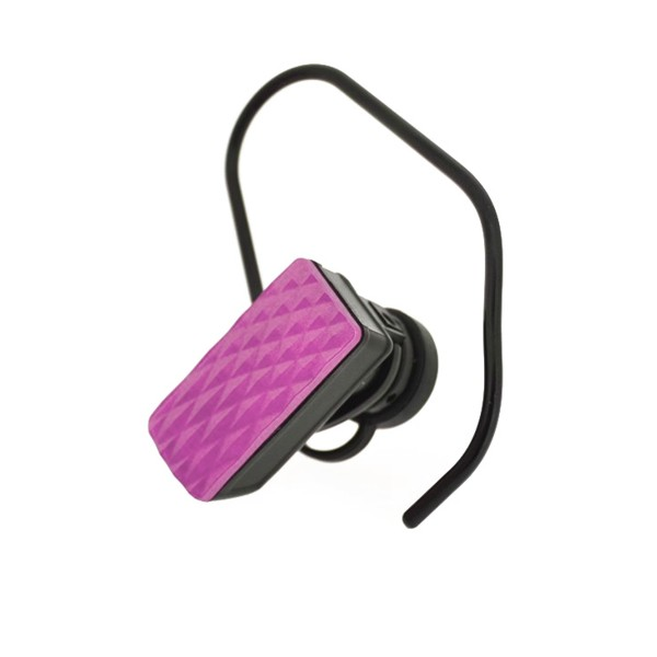 4-OK DIAMOND BLUETOOTH HEADSET PINK COLOR