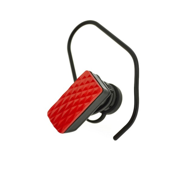 4-OK DIAMOND BLUETOOTH HEADSET RED COLOR