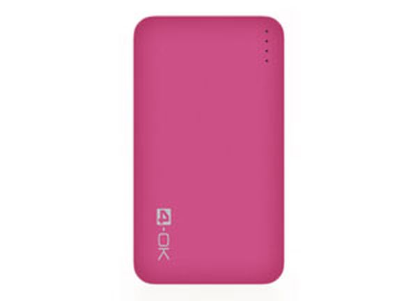 4-OK POCKET SLIM 4.0 - 4000 MAH - PINK