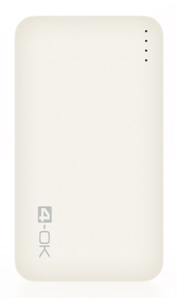 4-OK POCKET SLIM 4.0 - 4000 MAH - WHITE