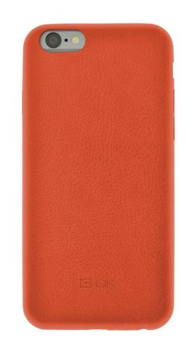 4-OK SECOND SKIN FOR IPHONE 6/ 6S COLOR ORANGE