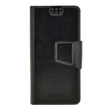 "4-OK UNIBOOK CASE SIZE TZ1 - XPERIA Z1 - BQ 5 ""  & SIMILARS BLACK COLOR"