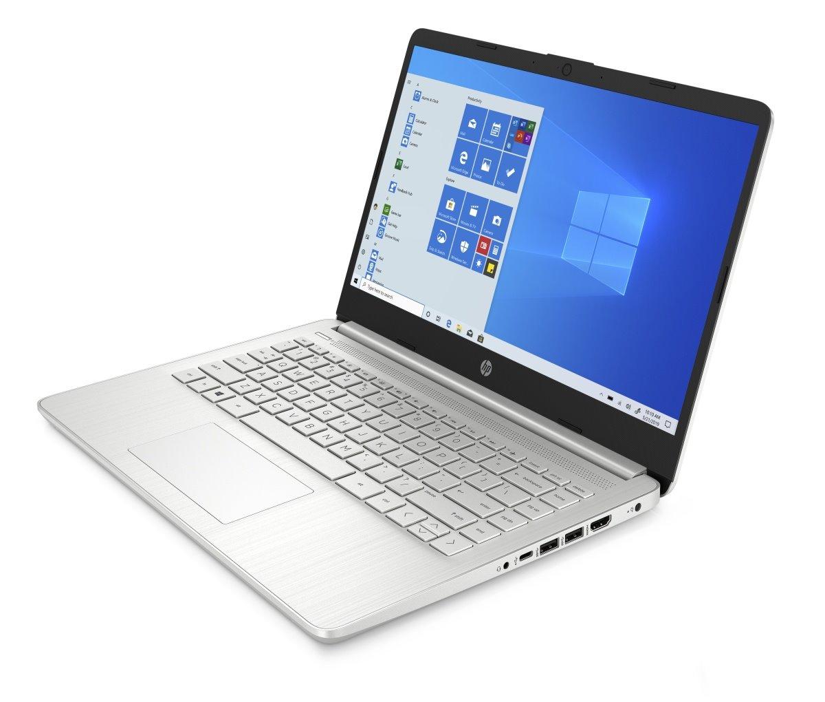 HP 14s-dq1002nc, i5-1035G1, 14.0 FHD, Intel UHD, 8GB, SSD 256GB, noODD, W10, Natural silver