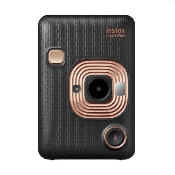 Fotoaparát Fujifilm Instax Mini LiPlay, čierny