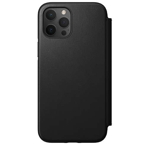 Púzdro Nomad Rugged Folio iPhone 12 Pro Max čierne