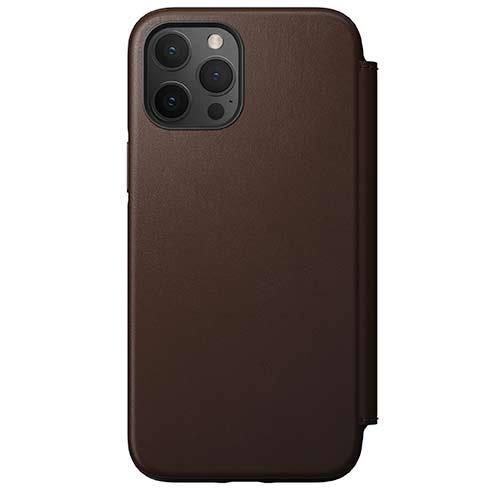 Púzdro Nomad Rugged Folio iPhone 12 Pro Max hnedé
