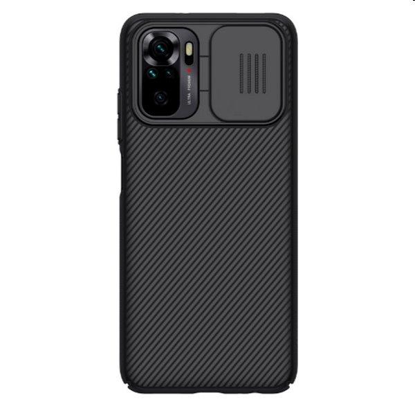Puzdro Nillkin CamShield pre Xiaomi Redmi Note 10 / 10s, čierne 57983103497