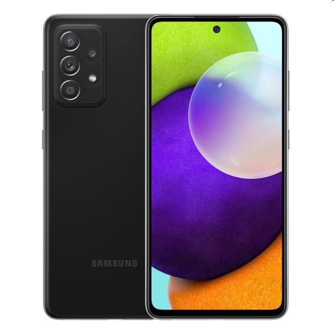 Samsung Galaxy A52 - A525F, 6/128GB |  Black - nový tovar, neotvorené balenie