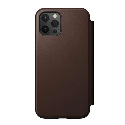 Púzdro Nomad Rugged Folio iPhone 12/12 Pro - Rustic hnedé