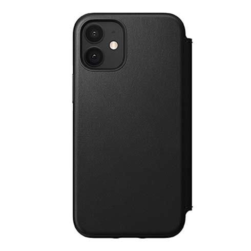 Púzdro Nomad Rugged Folio iPhone 12 Mini čierne