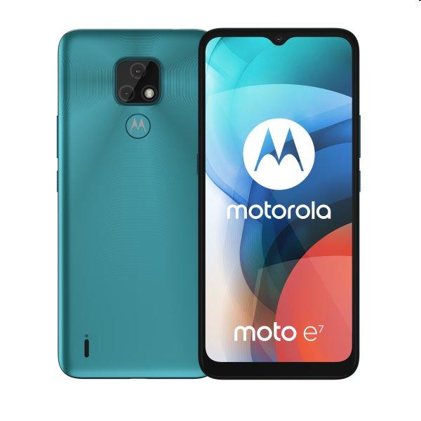 Motorola Moto E7, 2/32GB, aqua blue