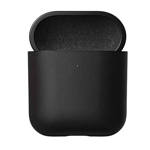 Odolné púzdro Nomad pre Apple Airpods 1 a 2, čierne