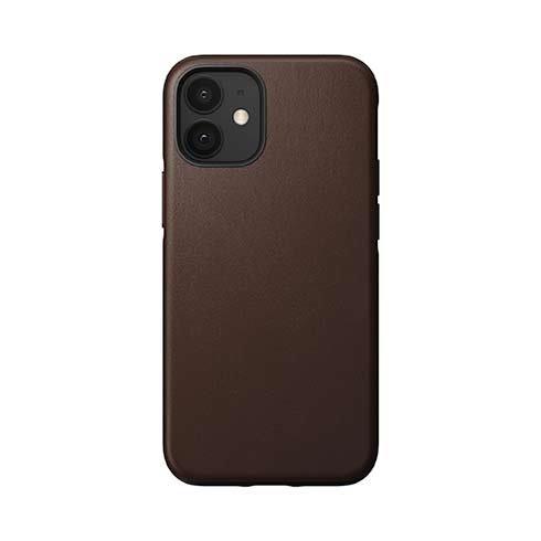 Púzdro Nomad Rugged Case iPhone 12 mini - Rustic hnedé