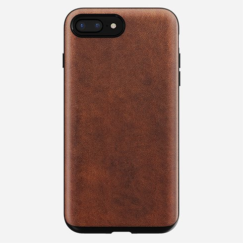 Púzdro Nomad Rugged Case iPhone 8 Plus/7 Plus - Rustic hnedé