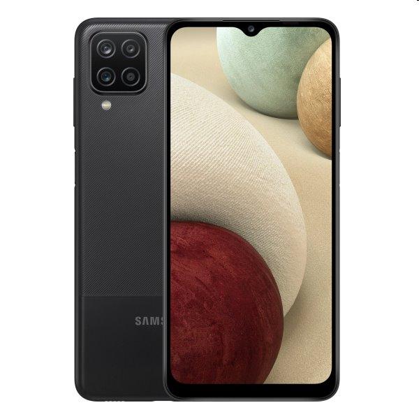 Samsung Galaxy A12 - A125F, 4/64GB, black - OPENBOX (Rozbalený tovar s plnou zárukou)