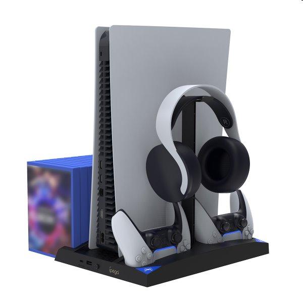 Dokovacia stanica iPega P5013 pre PlayStation 5, Dualsense a Pulse 3D