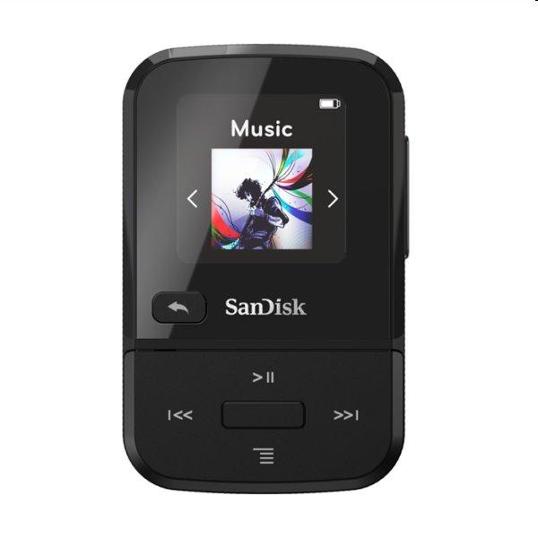 Prehrávač SanDisk MP3 Clip Sport Go 16 GB, čierny