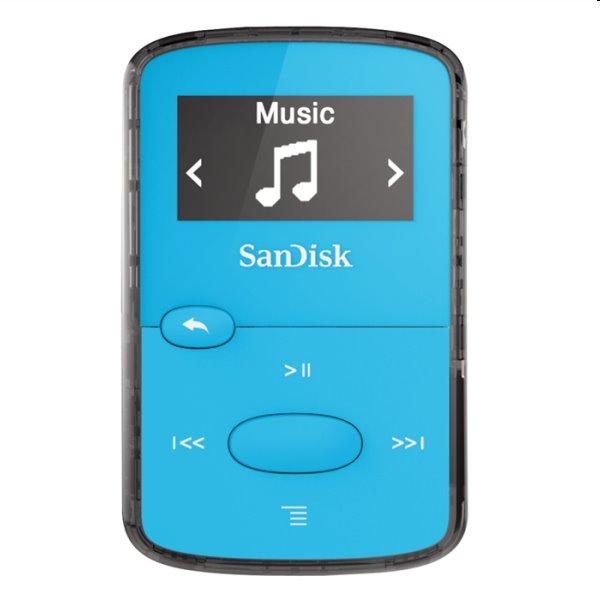 Prehrávač SanDisk MP3 Sansa Clip JAM 8GB, modrý