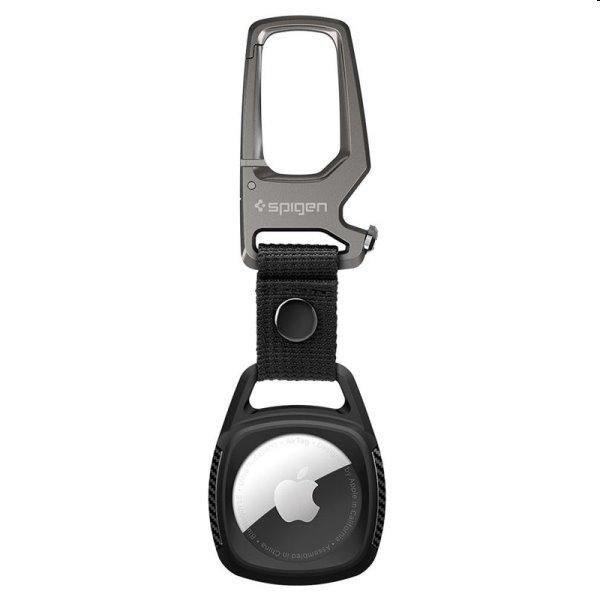 Spigen puzdro Rugged Armor pre Apple AirTag, čierne