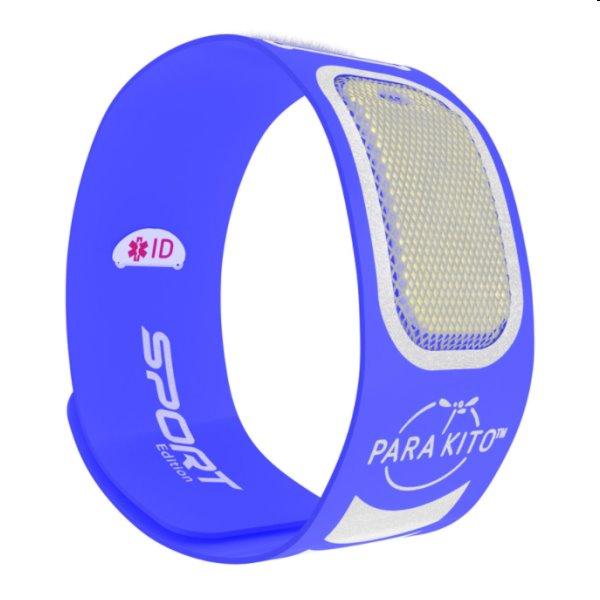 Náramok pre dospelých Parakito Sport, modrý