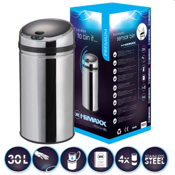 Odpadkový kôš Imaxx Premium 30L