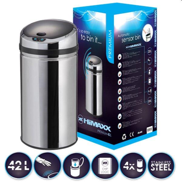 Odpadkový kôš Imaxx Premium 42L