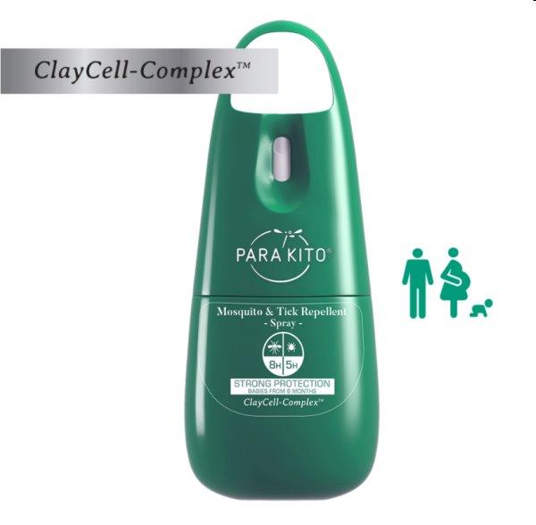 Parakito Sprej pre ochranu proti komárom a kliešťom, 75 ml