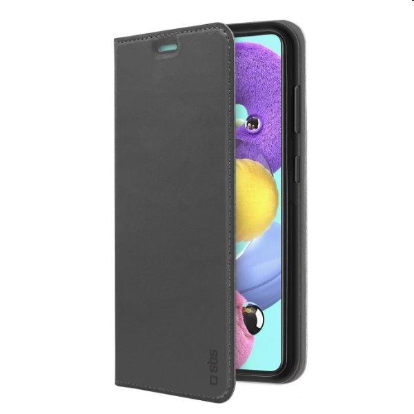 Puzdro SBS Book Wallet Lite pre Samsung Galaxy A52 - A525F / A52s 5G, čierne