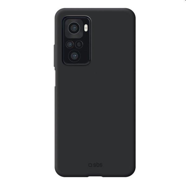 Puzdro SBS Sensity pre Xiaomi Redmi Note 10/10S, čierne TESENSXIRNO10K