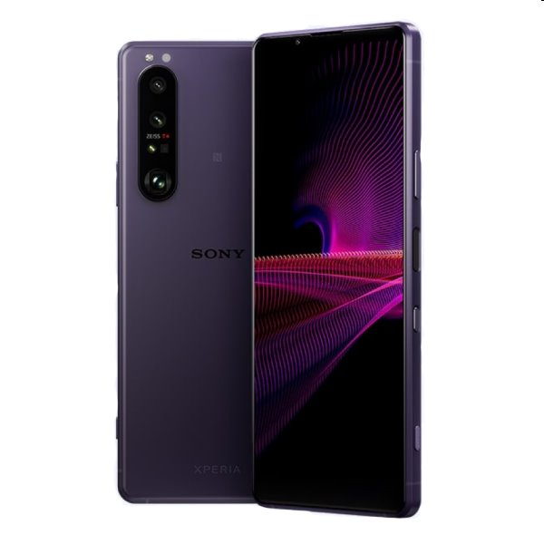 Sony Xperia 1 III 5G, 12/256GB, frosted purple