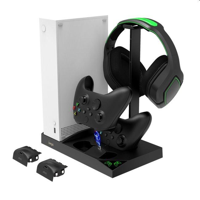 Dokovacia stanica iPega XBS013 pre Xbox Series S, Wireless controller a headset PG-XBS013
