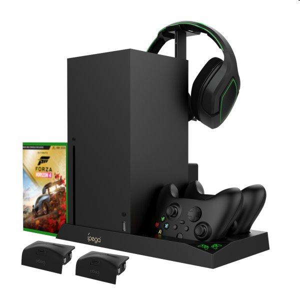 Dokovacia stanica iPega XBX013 pre Xbox Series X, Wireless controller a headset