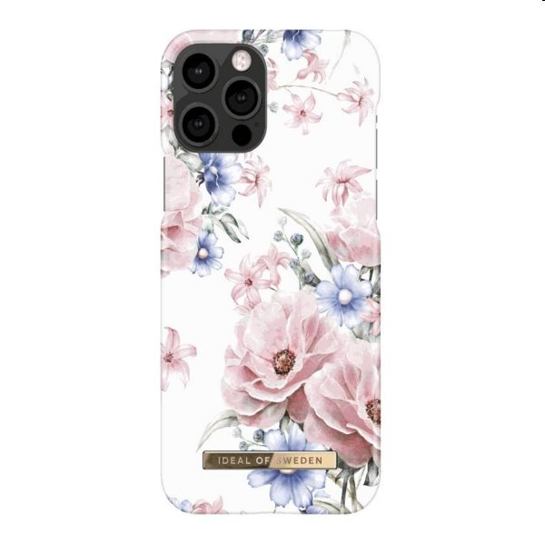 iDeal of Sweden Printed Case for iPhone 12/12 Pro, golden jade marble