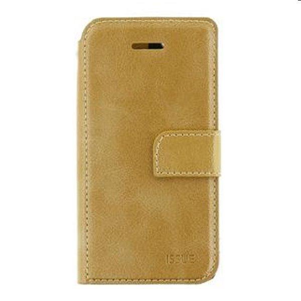 Molan Cano knižkové puzdro pre Motorola Edge 20, zlaté 57983105384