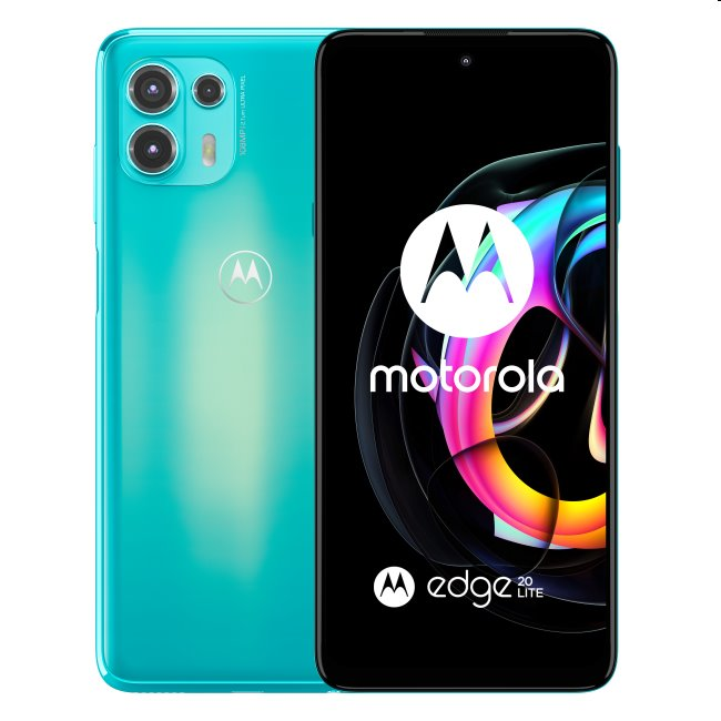 Motorola Edge 20 Lite 5G, 8/128GB, cyber teal