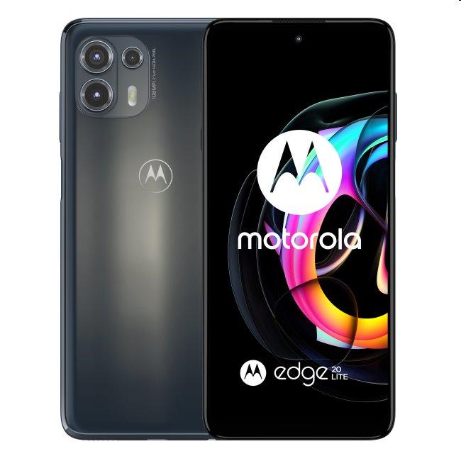 Motorola Edge 20 Lite 5G, 8/128GB, electric graphite