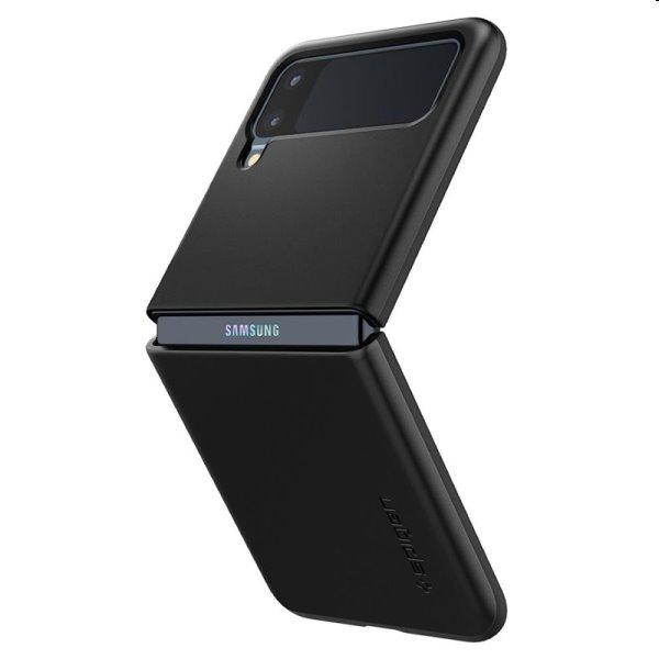 Puzdro Spigen Thin Fit pre Samsung Galaxy Z Flip3, čierne