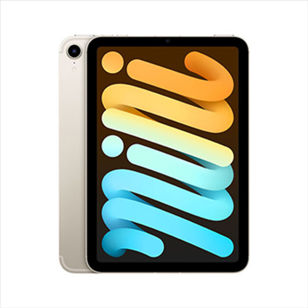 Apple iPad mini (2021) Wi-Fi + Cellular 64GB, starlight
