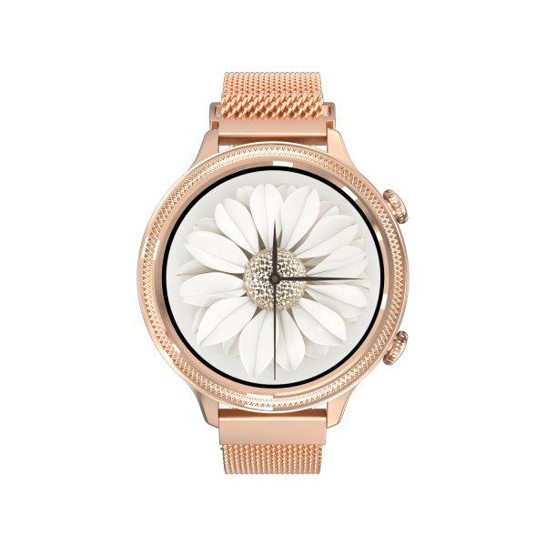 Carneo Gear+ Deluxe smart hodinky, zlaté - OPENBOX (Rozbalený tovar s plnou zárukou)