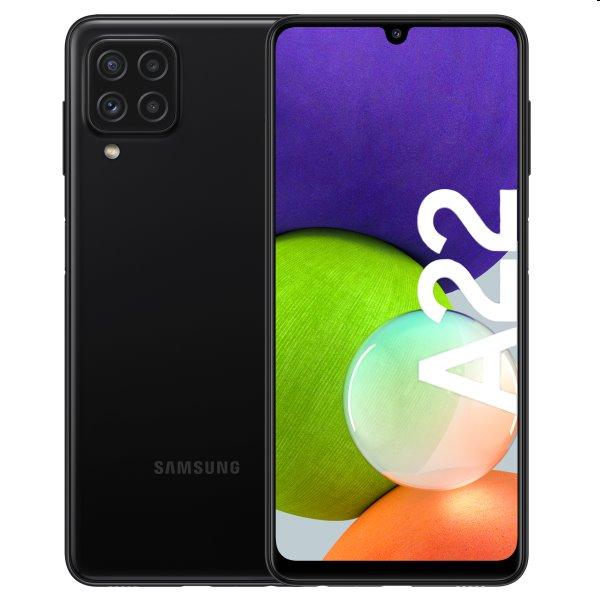 Samsung Galaxy A22, 4/64GB, black | nový tovar, neotvorené balenie